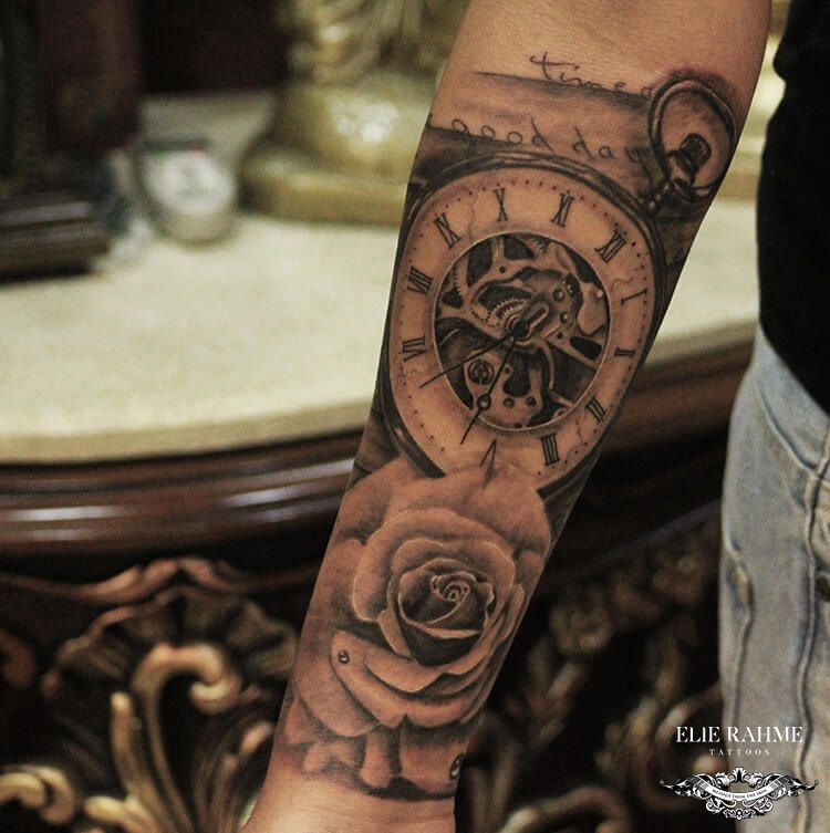 Elie Rahme Tattoos: Time is not measured by clocks but by Moments